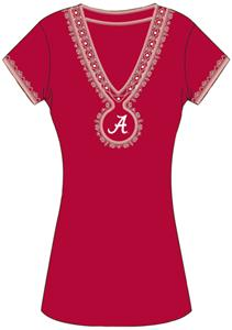Emerson Street Alabama Univ Womens Medallion Dress