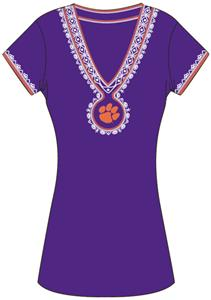 Emerson Street Clemson Womens Medallion Dress