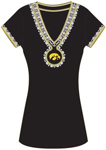 Emerson Street Iowa Hawkeye Womens Medallion Dress