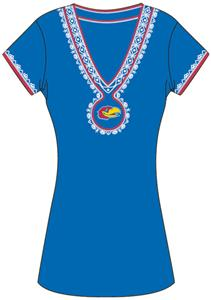 Emerson Street Kansas Womens Medallion Dress