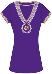 Emerson Street LSU Womens Medallion Dress