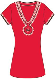Emerson Street Nebraska Womens Medallion Dress
