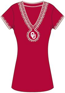 Emerson Street Oklahoma Womens Medallion Dress