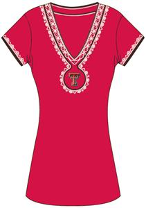 Emerson Street Texas Tech Womens Medallion Dress