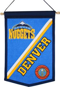 Winning Streak NBA Denver Nuggets Tradition Banner