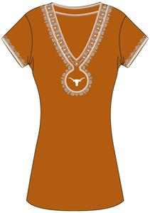Emerson Street Texas Womens Medallion Dress
