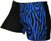 Gem Gear 4 Panel Royal Zebra Compression Shorts