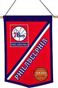Winning Streak NBA Philadelphia 76ers Banner