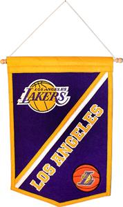 Winning Streak NBA Los Angeles Lakers Banners