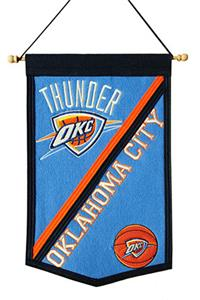 Winning Streak NBA Oklahoma City Thunder Banner