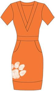 Emerson Street Clemson Womens Cozy Dress