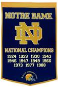 Winning Streak NCAA Notre Dame Dynasty Banner