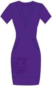Emerson Street LSU Tigers Womens Cozy Dress