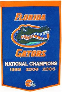 Winning Streak NCAA University of Florida Banner