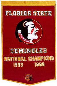 Winning Streak NCAA Florida State Dynasty Banner