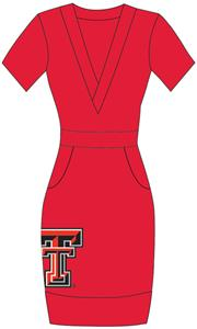 Emerson Street Texas Tech Womens Cozy Dress