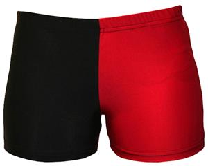 Gem Gear 4 Panel Red Compression Shorts