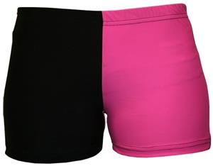 Gem Gear 4 Panel Pink Compression Shorts