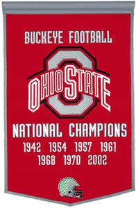 Winning Streak NCAA Ohio State University Banner