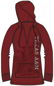 Texas A&amp;M Womens Cozy Pullover Hoody