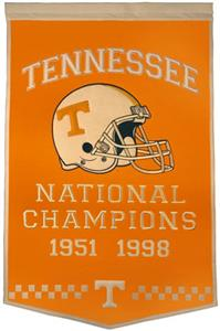 Winning Streak NCAA University of Tennessee Banner