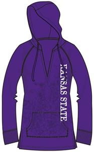 Kansas State Womens Cozy Pullover Hoody