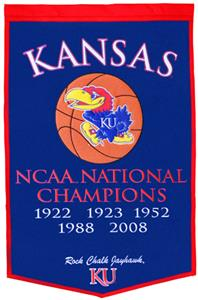 Winning Streak NCAA University of Kansas Banner