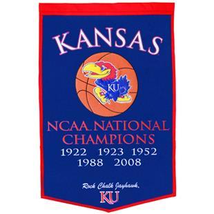 Winning Streak NCAA University of Kansas Banner