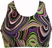 Gem Gear Neon Twister Racer Back Bra