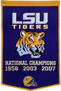 Winning Streak NCAA LSU Dynasty Banner