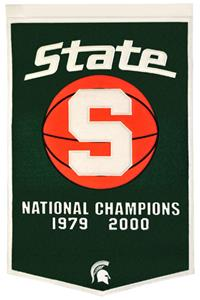 Winning Streak NCAA Michigan State Univ. Banner