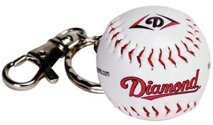 Diamond Baseball/Softball Keychains