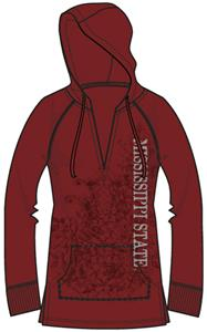 Mississippi State Womens Cozy Pullover Hoody