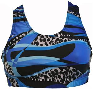 Gem Gear Royal Mamba Racer Back Bra