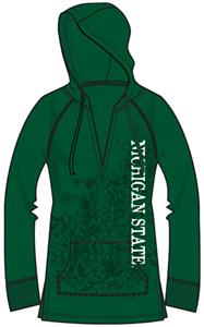 Michigan State Womens Cozy Pullover Hoody