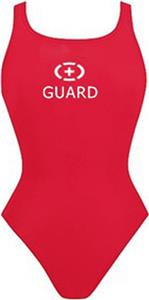 Adoretex Women Lifeguard Solid Speed Back Swimsuit