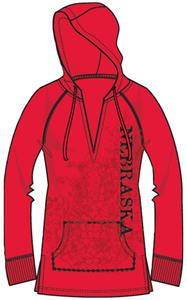 Emerson Street Nebraska Womens Cozy Pullover Hoody