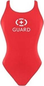 Adoretex Women Lifeguard Wide Strap Solid Swimsuit