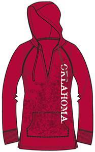 Oklahoma Sooners Womens Cozy Pullover Hoody