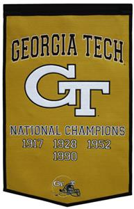 Winning Streak NCAA Georgia Tech Dynasty Banner
