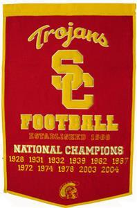 Winning Streak NCAA USC Dynasty Banner