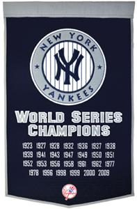 Winning Streak MLB New York Yankees Dynasty Banner