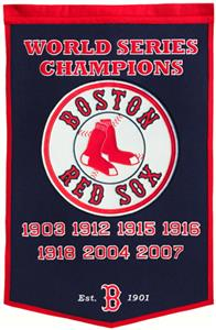 Winning Streak MLB Boston Red Sox Dynasty Banner