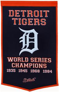 Winning Streak MLB Detroit Tigers Dynasty Banner