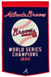 Winning Streak MLB Atlanta Braves Dynasty Banner