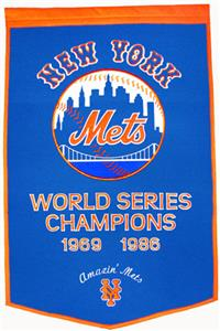 Winning Streak MLB New York Mets Dynasty Banner