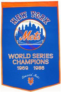 Winning Streak MLB New York Mets Dynasty Banner