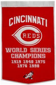 Winning Streak MLB Cincinnati Reds Dynasty Banner