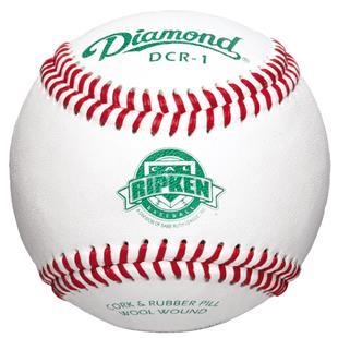 Diamond DCR-1 Cal Ripken Raised Seam Baseballs