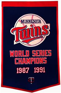 Winning Streak MLB Minnesota Twins Dynaster Banner
